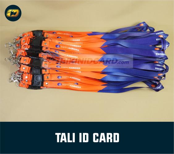 gantungan tali id card