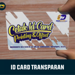 ID Card Transparan Jogja