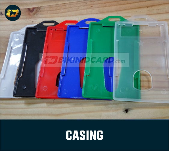 jual casing id card transparan