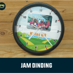 Jam Dinding Custom Foto