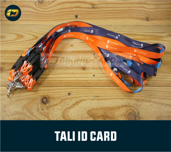 tali id card printing polyester