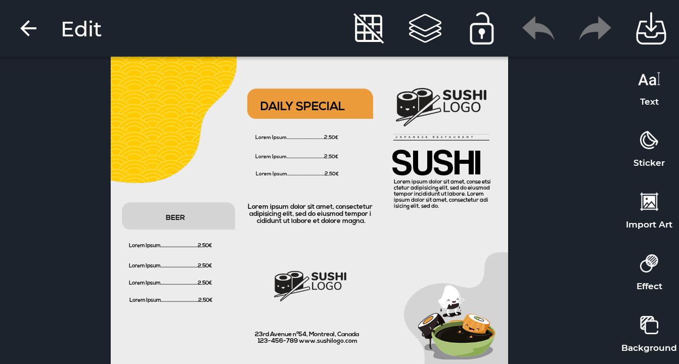 tutorial desain brosur produk penjualan 3