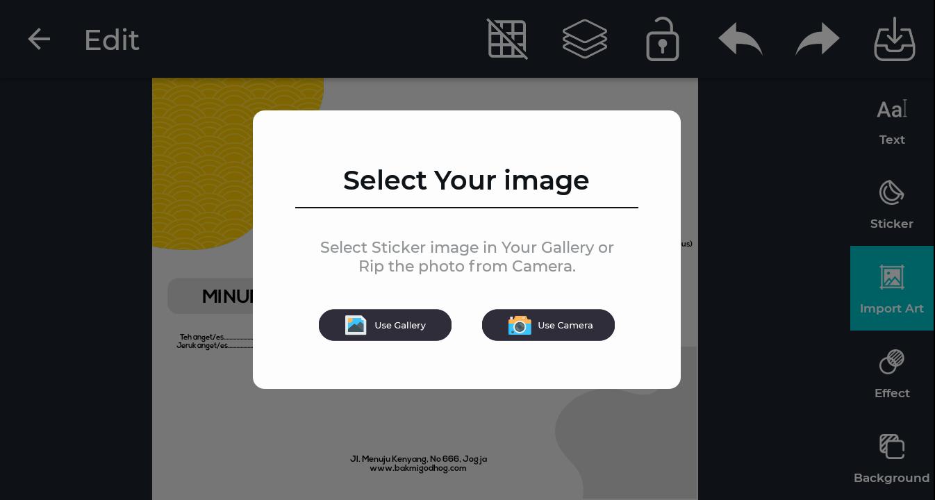 tutorial desain brosur produk penjualan 6