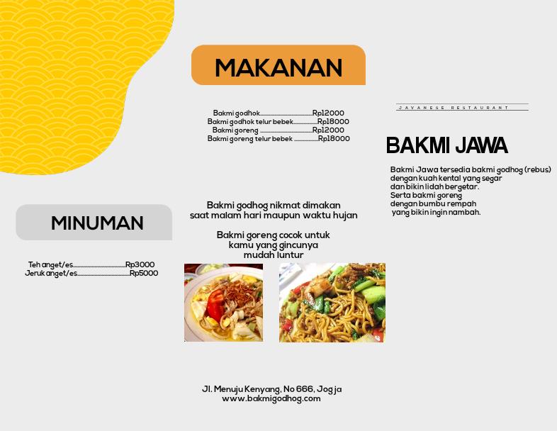 tutorial desain brosur produk penjualan 7