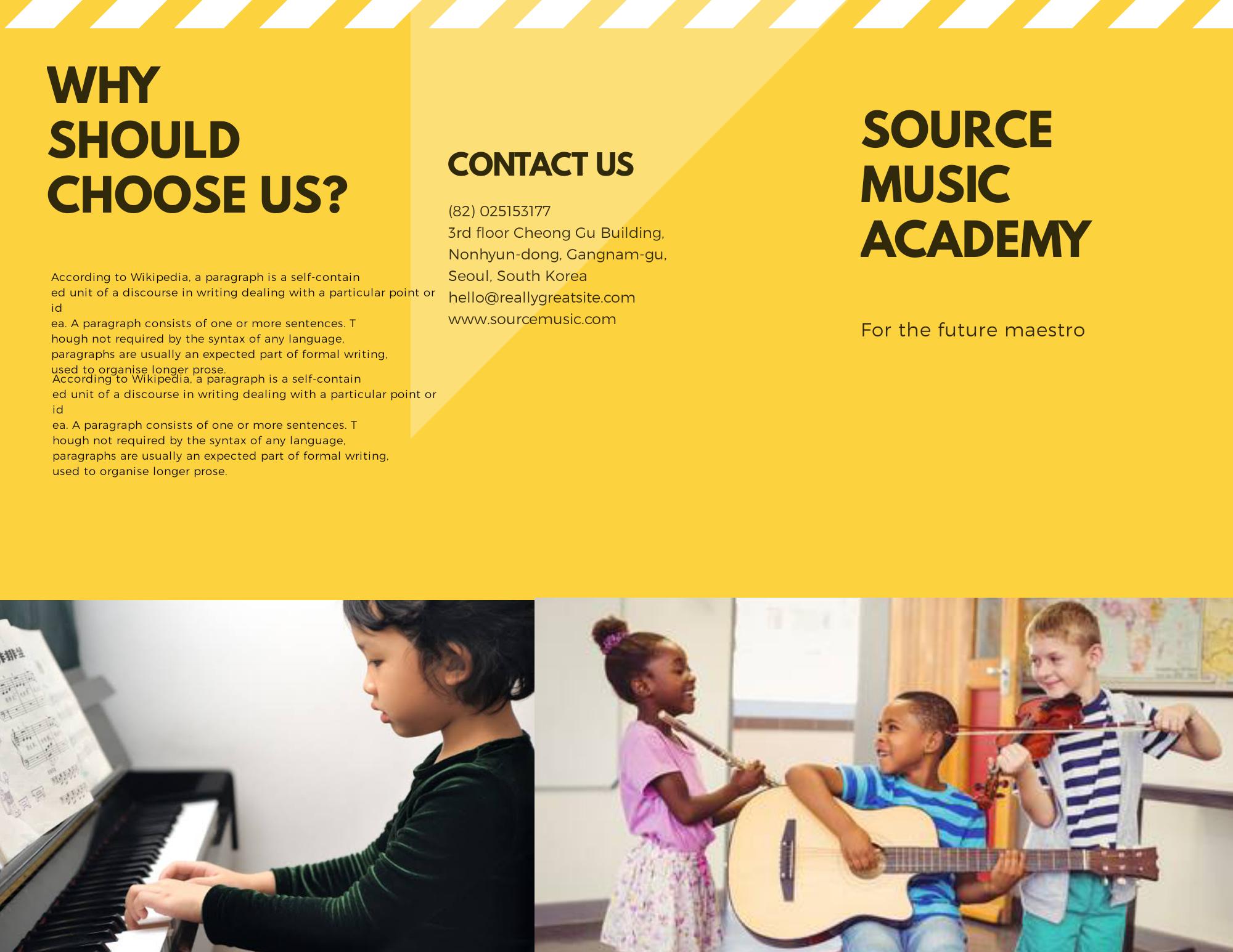 tutorial membuat brosur sekolah 2