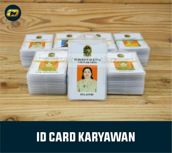Cetak ID Card untuk PNS CDR