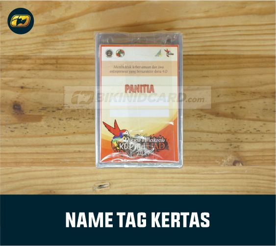 Name Tag ID Card