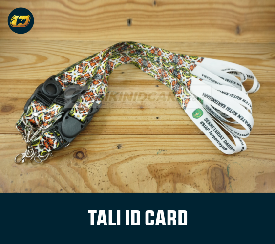 cetak tali id card tisu