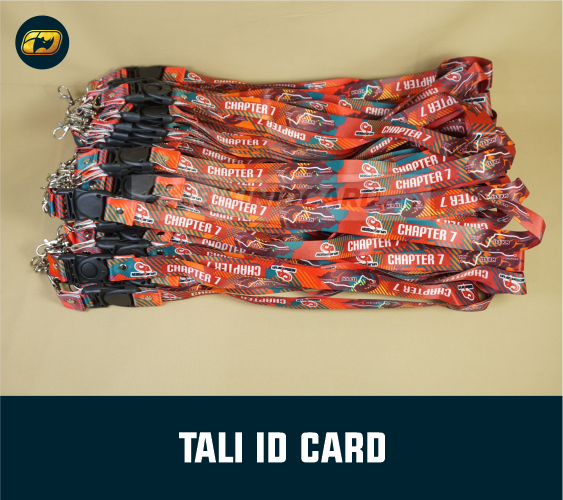 contoh tali ID Card polyester