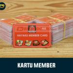 Kartu Member Card