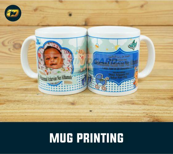 souvenir gelas mug foto