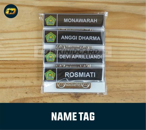 Contoh Name Tag Mahasiswa