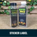 Stiker Label Jogja