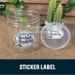Stiker Label Kemasan