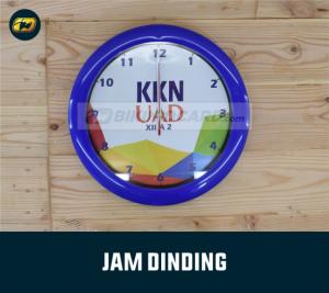 souvenir KKN Jam dinding