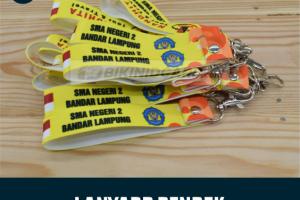 Cetak Lanyard Keychain Custom
