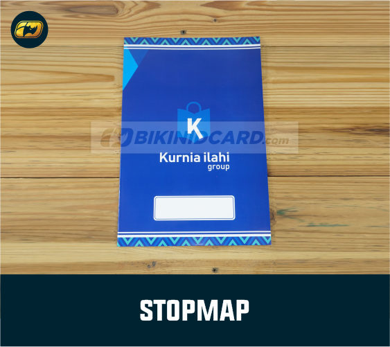 cetak map kertas custom