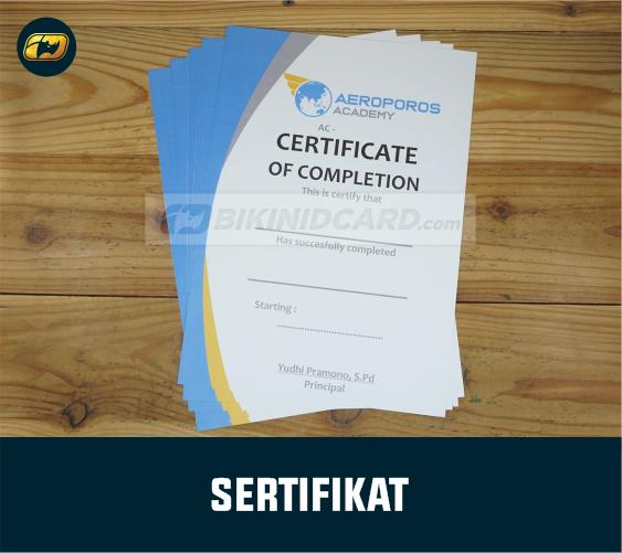 sertifikat magang