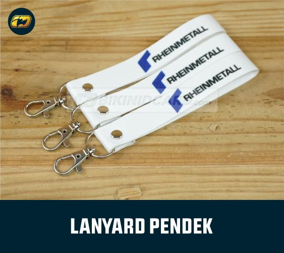 tempat cetak lanyard keychain custom