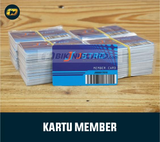 ukuran buat id card member