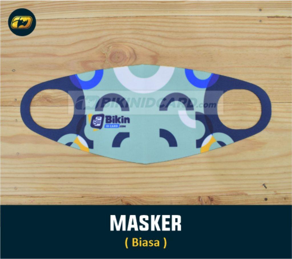 Masker Kain Scuba Custom