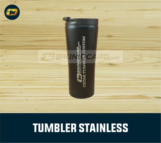 jual tumbler less waste dari bahan stainless
