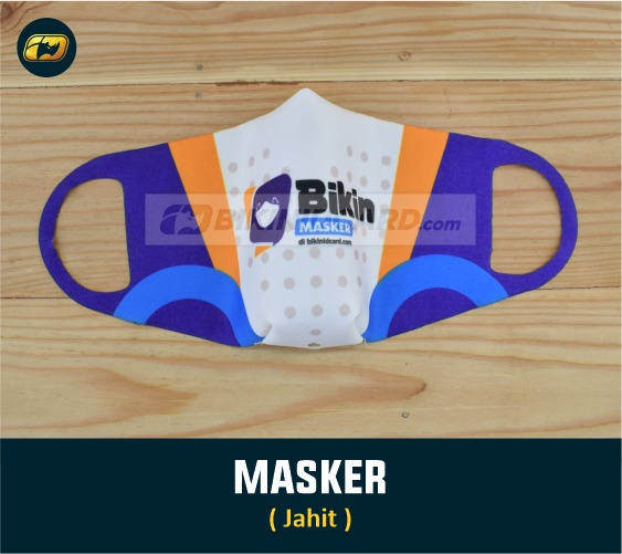 masker kain motif