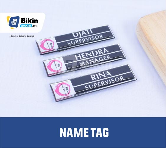 contoh desain name tag perusahaan