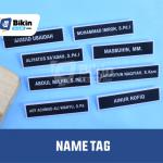Name Tag Perusahaan