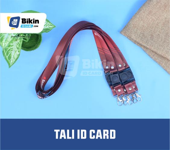 pembuatan tali id card bandung online