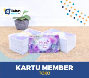 Contoh Karu Member Toko