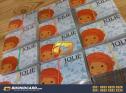 contoh desain id card perusahaan